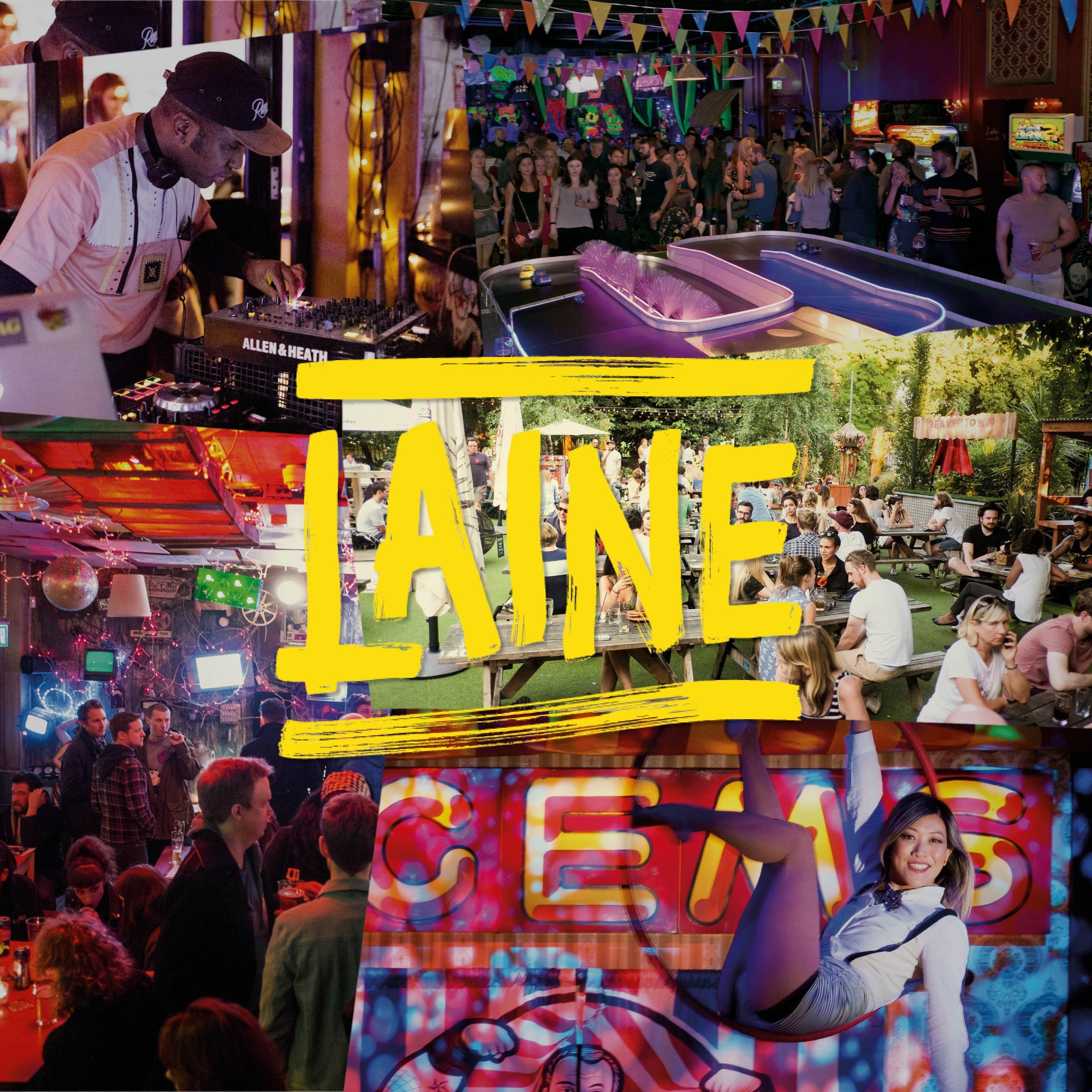 Laine Brew Co - logo